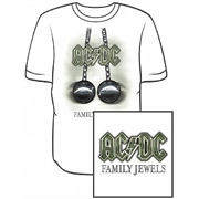 Camiseta ACDC - Family Jewels
